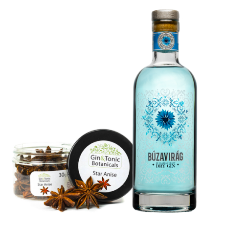 Búzavirág Kézműves Gin & Csillagánizs